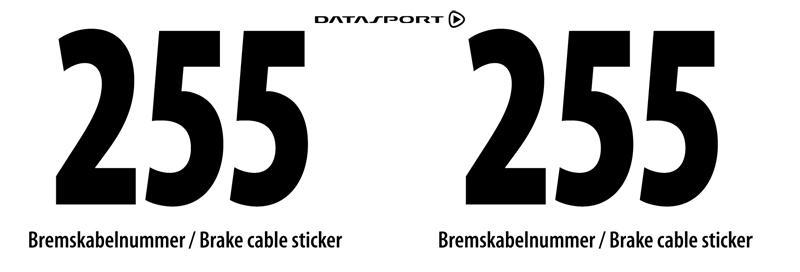 Bib printing service - Datasport